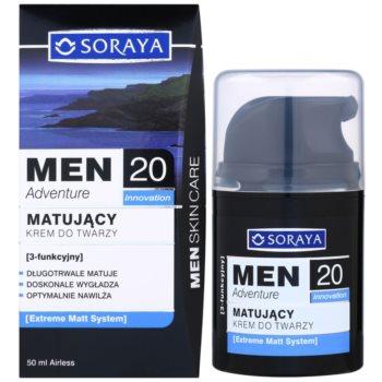 Soraya MEN Adventure 20+ mattierende Creme mit feuchtigkeitsspendender Wirkung für Herren 2
