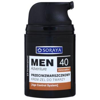 Soraya MEN Adventure 40+ гел-керм против бръчки за мъже 1