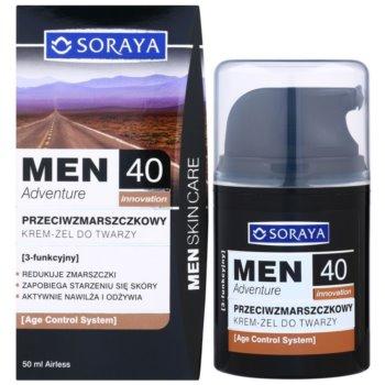 Soraya MEN Adventure 40+ гел-керм против бръчки за мъже 2