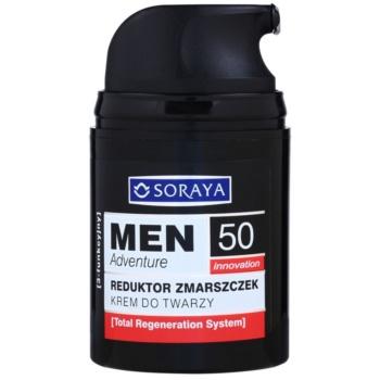 Soraya MEN Adventure 50+ crema anti-rid pentru barbati 1