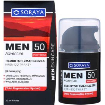 Soraya MEN Adventure 50+ crema anti-rid pentru barbati 2