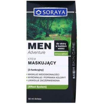 Soraya MEN Adventure крем против несъвършенства и зачервявания по кожата за мъже 3