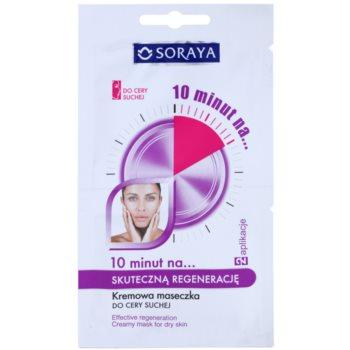 Soraya 10 Minutes крем-маска для відновлення шкіри