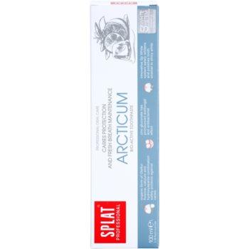 Splat Professional Arcticum bioaktivna zobna pasta za zaščito pred kariesom in za svež dah 2