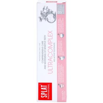 Splat Professional Ultracomplex pasta de dinti bio-activa pentru ingrijire completa si albire pentru dinti sensibili 2
