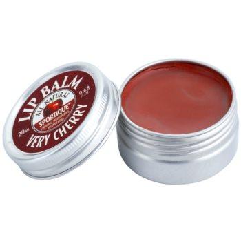Sportique Wellness Cherry balsam de buze 1