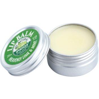 Sportique Wellness Heavenly Lime & Mint balzam za ustnice 1