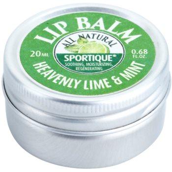 Sportique Wellness Heavenly Lime & Mint balzam za ustnice 2