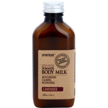 Sportique Wellness Lavender хидратиращо мляко за тяло