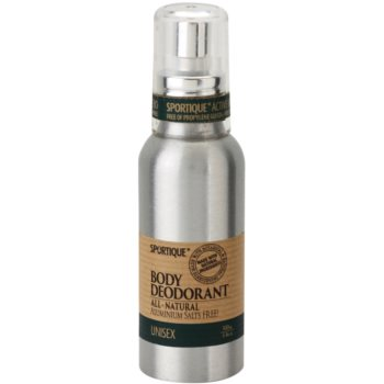 Sportique Wellness Unisex přírodní deodorant ve spreji