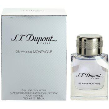 S.T. Dupont 58 Avenue Montaigne Eau de Toilette pentru barbati 30 ml