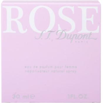 S.T. Dupont Rose Eau de Parfum für Damen 4