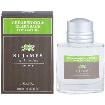 St. James Of London Cedarwood & Clarysage After Shave Gel for Men