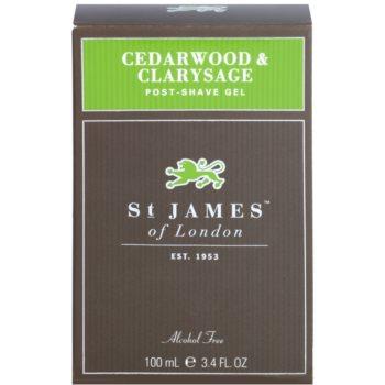 St. James Of London Cedarwood & Clarysage After Shave Gel for Men 1