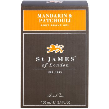 St. James Of London Mandarin & Patchouli After-Shave Gel für Herren 1
