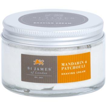 St. James Of London Mandarin & Patchouli Shaving Cream for Men 2