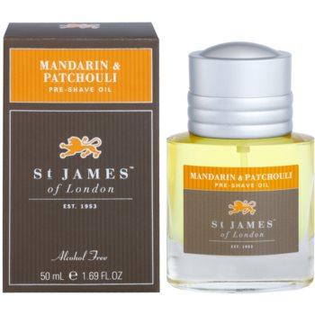 St. James Of London Mandarin & Patchouli Shaving Oil for Men