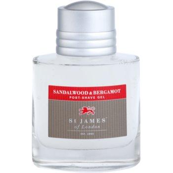 St. James Of London Sandalwood & Bergamot After-Shave Gel für Herren 2