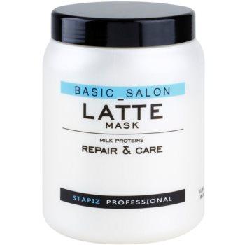 Stapiz Basic Salon Latte masca cu proteine din lapte