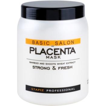 Stapiz Basic Salon Placenta masca hidratanta petru par fragil si fara vlaga