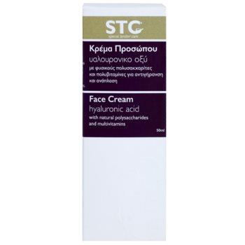 STC Face pomlajevalna krema za obraz s hialuronsko kislino 3