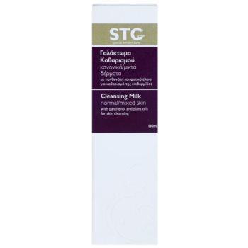 STC Face mleczko oczyszczajace do cery normalnej i mieszanej 3