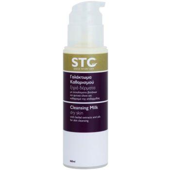 STC Face Reinigungsmilch für trockene Haut 1