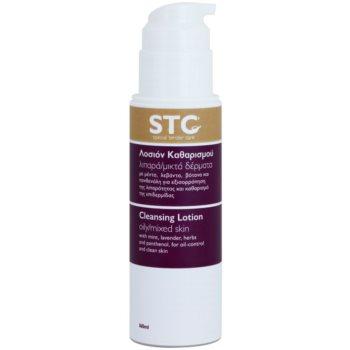 STC Face leite facial de limpeza para pele mista e oleosa 1