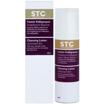 STC Face leite facial de limpeza para pele mista e oleosa 2