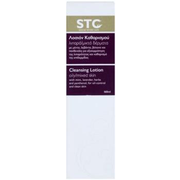 STC Face leite facial de limpeza para pele mista e oleosa 3