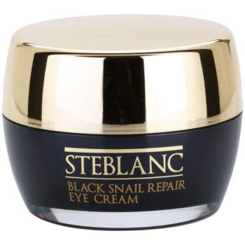 Steblanc Black Snail Repair crema de ochi cu extract de melc