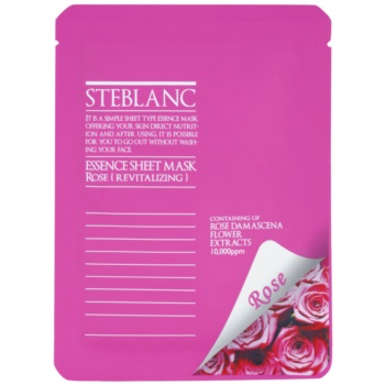 Steblanc Essence Sheet Mask Rose masca faciala revitalizanta