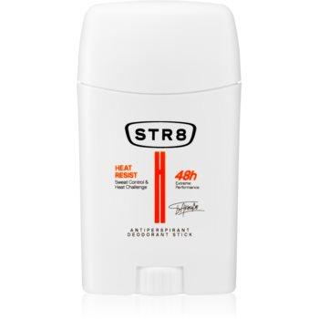 STR8 White Heat Resist deodorant stick pentru bărbați poza noua