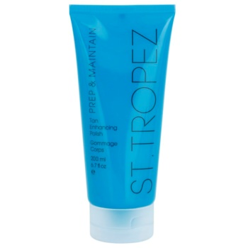 St.Tropez Prep & Maintain crema peeling pentru corp pentru intensificarea bronzului