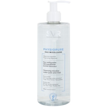 SVR Physiopure apă micelară pentru curățare blânda pentru fata si zona ochilor