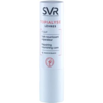 Fotografie SVR Topialyse výživný balzám na rty s regeneračním účinkem 4 g