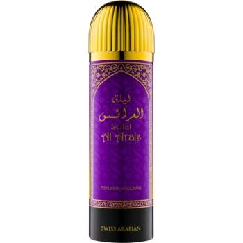 Swiss Arabian Leilat Al Arais deospray pentru femei 200 ml