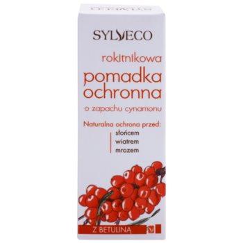 Sylveco Lip Care защитен и успокояващ балсам за устни с регенериращ ефект 3