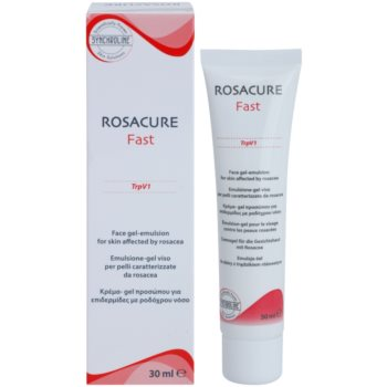 Synchroline Rosacure Fast гел емулсия за чувствителна кожа със склонност към почервеняване 1