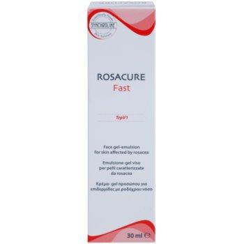 Synchroline Rosacure Fast гел емулсия за чувствителна кожа със склонност към почервеняване 2