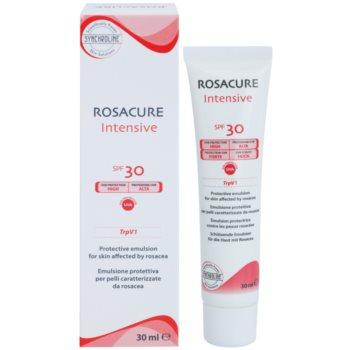 Synchroline Rosacure Intensive zaščitna emulzija za občutljivo kožo nagnjeno k rdečici SPF 30 1