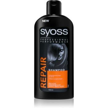 Syoss Repair Therapy ?ampon intens cu efect de regenerare pentru par deteriorat imagine produs