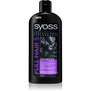 Syoss Full Hair 5 Density & Volume sampon pentru parul subtire si moale imagine produs