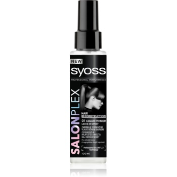 Syoss Salonplex spray inainte de vopsire
