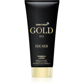 Tannymaxx Gold 999,9 lapte de bronzare la solar pentru barbati imagine produs