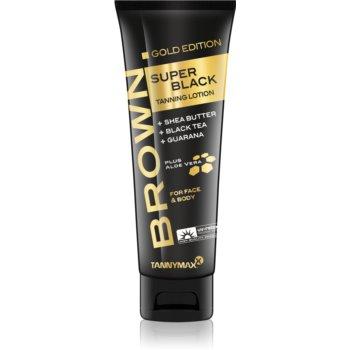 Tannymaxx Brown Super Black Gold Edition Crema de bronzare la solar pentru intensificarea bronzului imagine produs