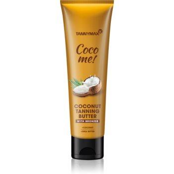 Tannymaxx Coco Me! Coconut unt de corp cu bronzer pentru un bronz de lunga durata imagine produs