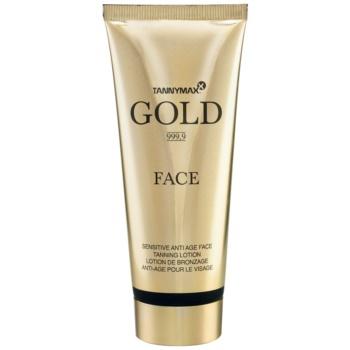 Tannymaxx Gold 999,9 crema de fata pentru accelerarea bronzului imagine produs