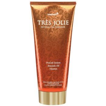 Tannymaxx Trés Jolie знежирений крем для засмаги у солярії