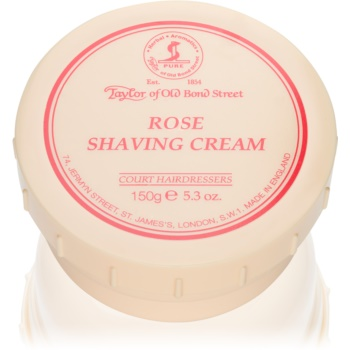 Taylor of Old Bond Street Rose crema de barbierit